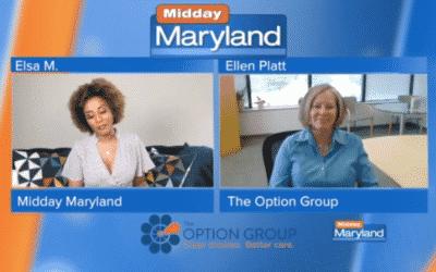 Ellen Platt Speaks with Elsa M. on WMAR Midday Maryland
